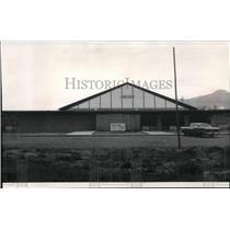 1965 Press Photo Wa-a'Yas recreational center for Nez Perce Indian tribe Kamiah