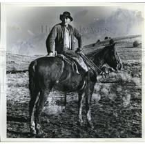 1962 Press Photo Steve Miller, Ranch Foreman and Trailboss - orb03053