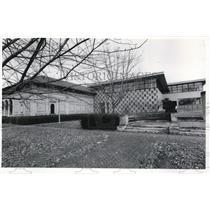 1976 Press Photo Memorial Art Museum wing in Oberlin College - cva72747