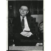 1936 Wire Photo David Dean Pleaded Guilty to Shooting Charles A. Pogle