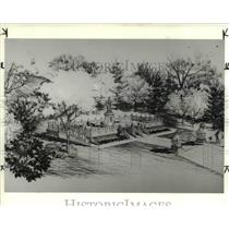 1984 Press Photo Rockefeller park; Chinese Cultural garden - cva90435
