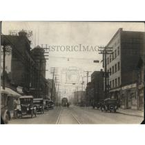 1921 Press Photo Looking North at W. 25th, Clark Ave. - cva87380