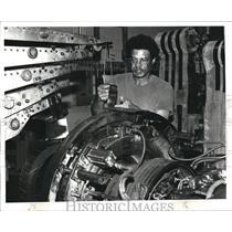1982 Press Photo George Cogburn of General Tire & Rubber Co., Akron - cva72527