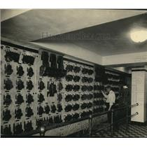 1923 Press Photo Cleveland Public Hall; main switchboard in basement - cva86326