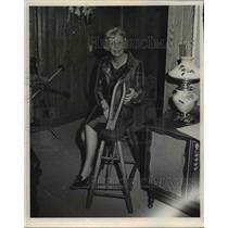 1966 Press Photo Mrs. Hubert H. Humphrey - cvb00444