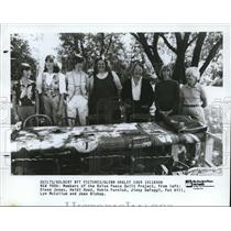 1985 Press Photo The Boise Peace Quilt project members - cva74190