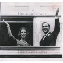 1964 Press Photo King Constantine of Greece & future queen, Princess Anne Marie