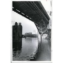 1978 Press Photo Cuyahoga River Cleaned Up - cva88505