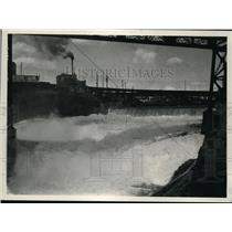 1928 Press Photo Spokane River - spa01363