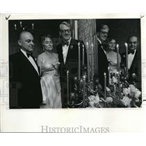 1969 Press Photo President William F. Feasley Mrs. Lyle N. Omdahl Oswego Lake