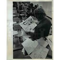 1973 Press Photo PSU Professor Sam Oakland - ora65472