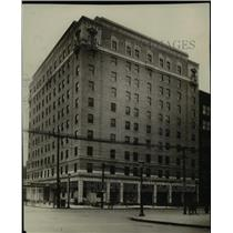 1927 Press Photo The Auditorium Hotel - cva89716