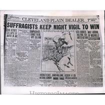 1920 Press Photo Suffrage's final victory in Tennessee. - cva93970