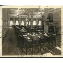 1935 Press Photo The Dining Room at Chaudler & Rudd Co. - cva95797