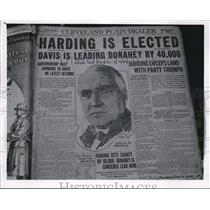 1920 Press Photo This is the first election, that women voted in this country.