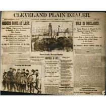 1917 Press Photo Cleveland - Early pages-April 1858 - cva73759