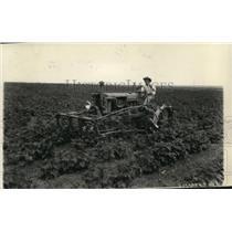 1928 Press Photo Spokane, WA Farm plowing - spa00008