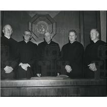 1968 Press Photo Ralph Hove, Norman dePender, Philip Brooke, Brown & CD Randall