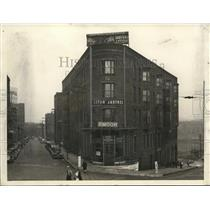 1934 Press Photo Exterior of Central Hotel - cva87990