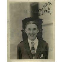 1925 Press Photo Tommy Smith Who Has $5000 Worth Of Dental Work - nee86011