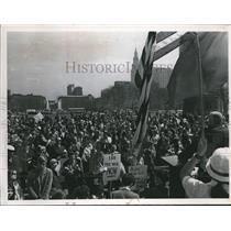 1968 Press Photo The Anti-War Demonstrates - cva77149