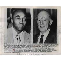 1948 Press Photo State Dept aide Francis B Sayre & George Hewitt ex Communist