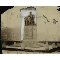1918 Press Photo Marcus Alonzo Hanna statue - cva97347