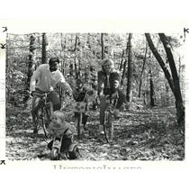 1984 Press Photo Rocky River Reservation of Metroparks, all purpose trails