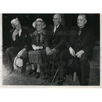 1948 Press Photo Spokane County Pioneers society Tom Murphey, Margaret Turner