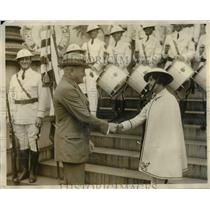 1926 Press Photo General Pershing with the Miami Legionnaires - cva97488