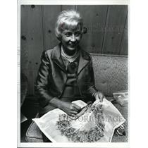 1966 Press Photo Muriel Humphrey wife of vice president - spa01790