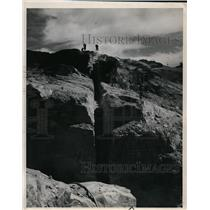 1949 Press Photo Grand Coulee Dam Construction - spa00558