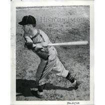 1940 Press Photo Alan Strange of St Louis Browns at bat - nes41551 - nes41551