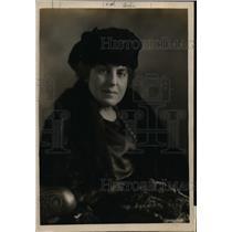 1919 Press Photo Mrs GS Bange Steward Owns & Supervises 12 Farms in Illinois