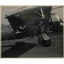 1950 Press Photo Mosquito Control-Portland air force converted war plane