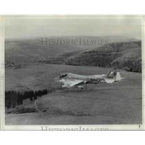 1972 Press Photo Navy A6 Intruder on Tortuous Route to Boardman Bombing Range