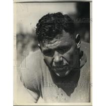 1925 Press Photo Bill Cook halfback for University of Southern California