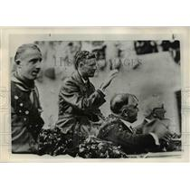 1976 Press Photo Charles Lindbergh - ora53398