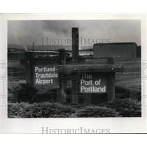 1978 Press Photo Portland-Troutdale Airport owned by Port of Portland