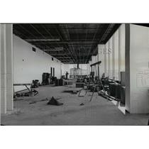 1958 Press Photo Lounge construction at Portland International Airport