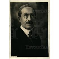 1922 Press Photo Baron Romano Avezzano Former Italian Ambassador to US