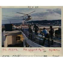 1986 Press Photo Life Flight operations are under fire. - orb21685