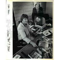 1984 Press Photo Linda and David Shaw - ora78351