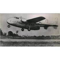 1944 Press Photo Fairchild C-82, a new Army cargo plane taking off - orb09987