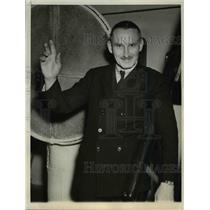 1937 Press Photo Major Albert W. Stevens, Army Flier - ora86163