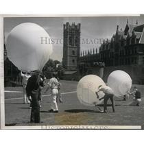 1939 Press Photo Dr Arthur H Compton Noble Prize Winner & Univ Chicago Physicist