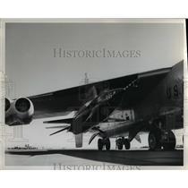 1961 Press Photo Airplane - orb06127