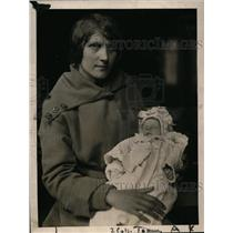 1919 Press Photo Mrs Carmela Marzaao Kidnapped Baby of Mrs Anne Koskinen