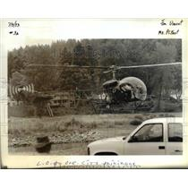 1993 Press Photo Helicopter - orb15801