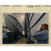 1997 Press Photo Spruce goose Airplane - orb00902